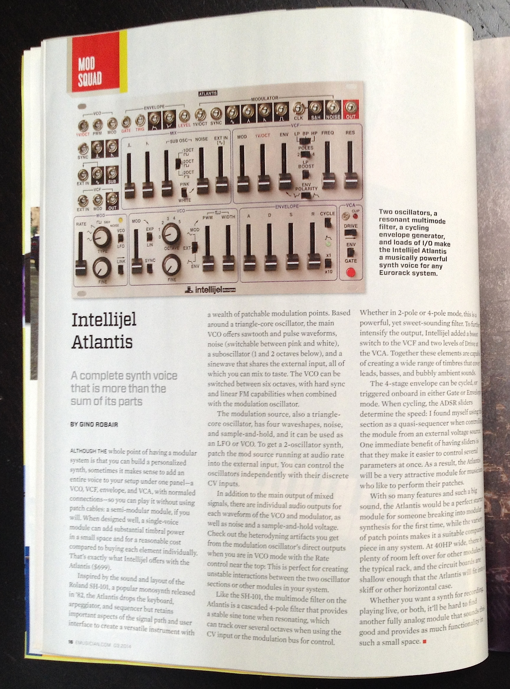 EM March 2014 Mod Squad Atlantis review