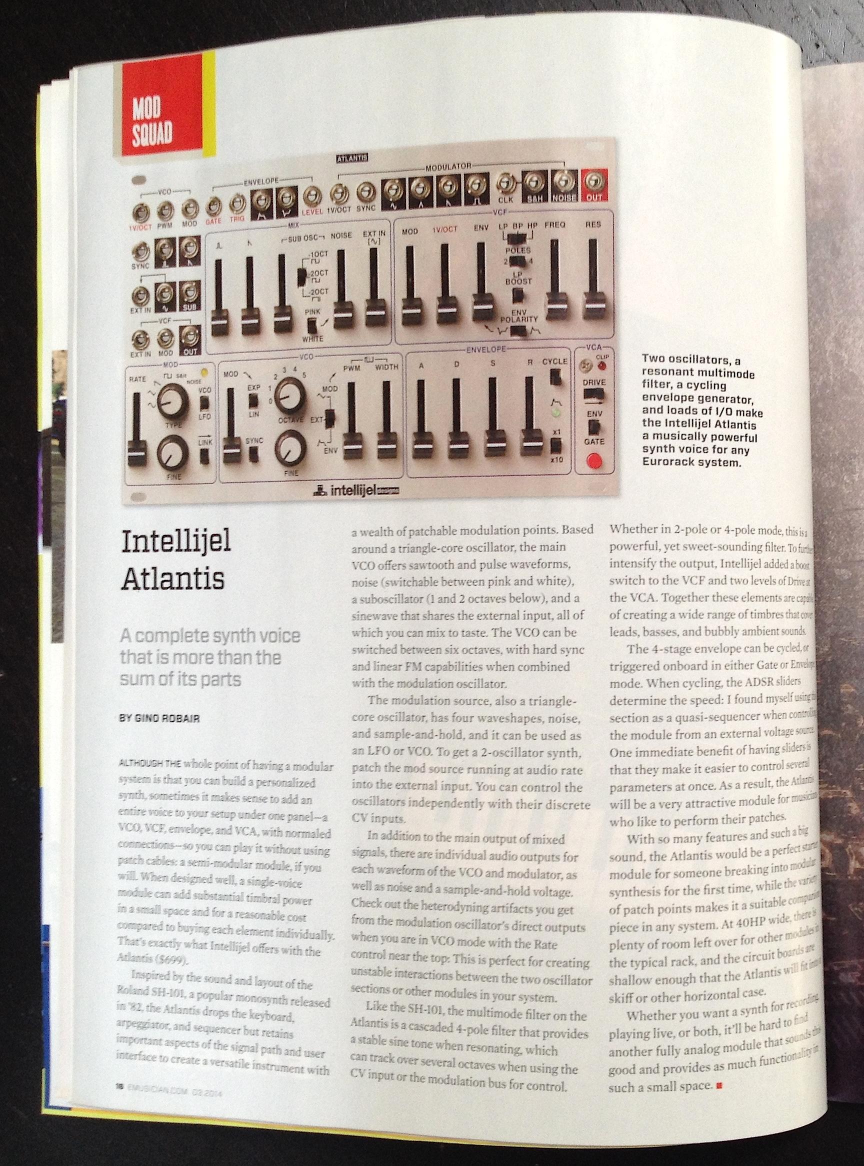 EM March 2014 Mod Squad Atlantis review
