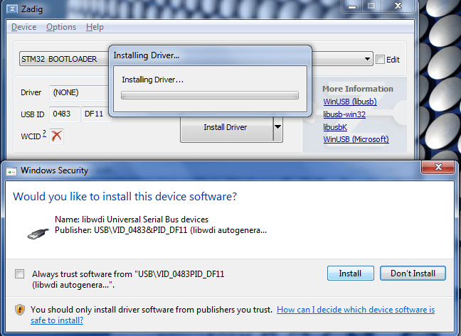 Firmware Updates — Windows - intellijel