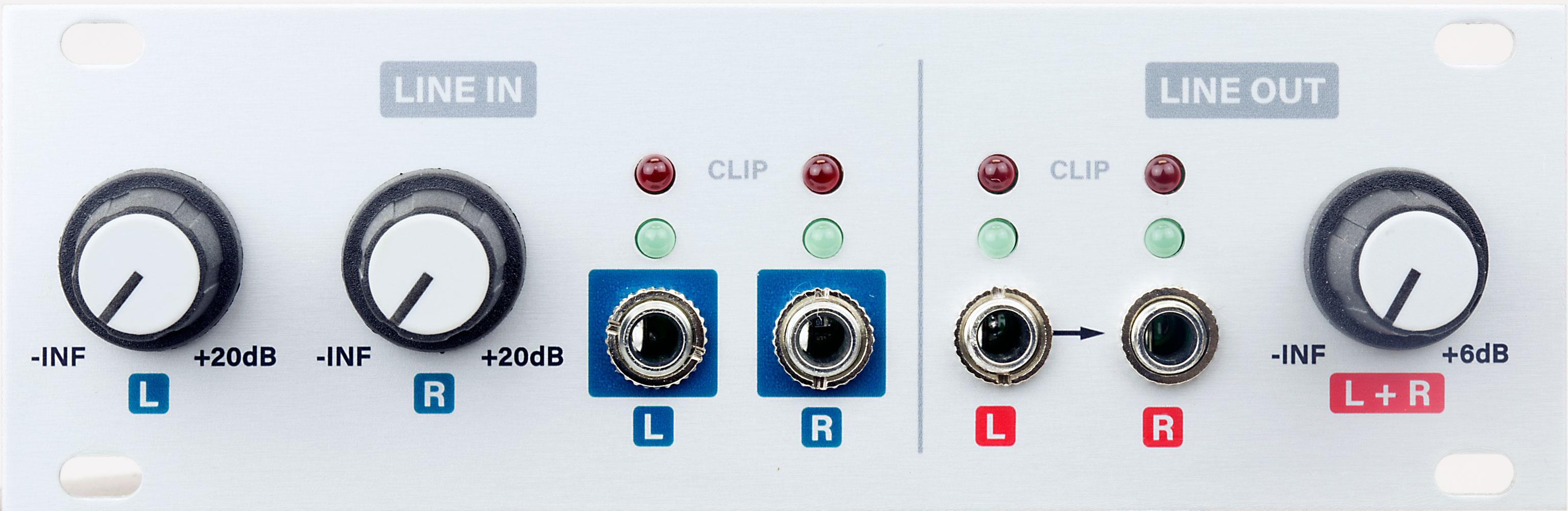 Audio I/O 1U